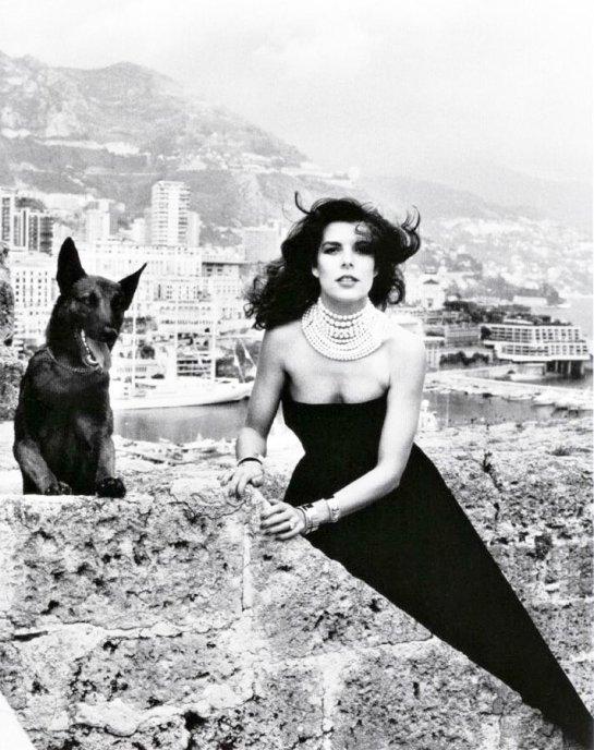 Carolina di Monaco by Helmut Newton