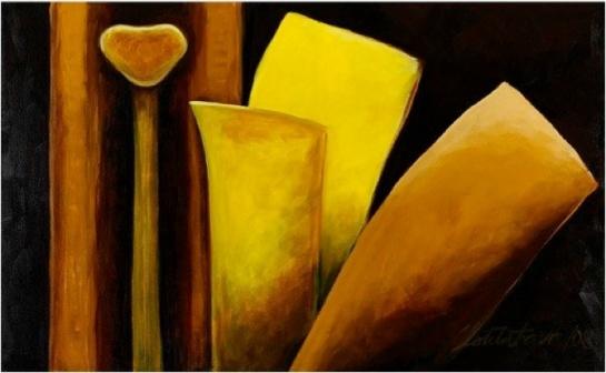 Acrylique sur toile100 x 162 cm