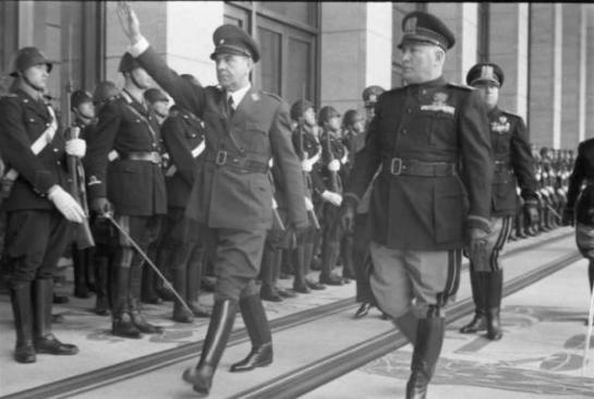Mussolini and Pavelic |1941
