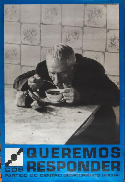 Cartazes do CDS, 1976.