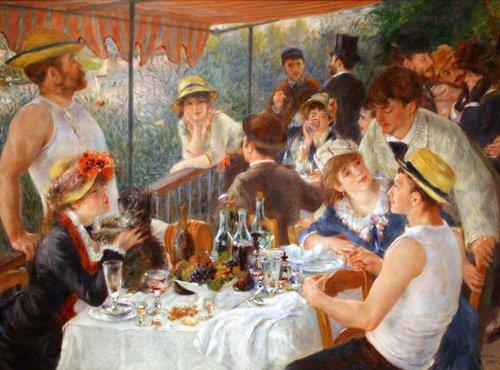 Auguste Renoir -Le déjeuner des canotiers