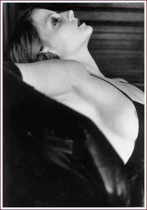 Jodie Foster, 1987 by Helmut Newton