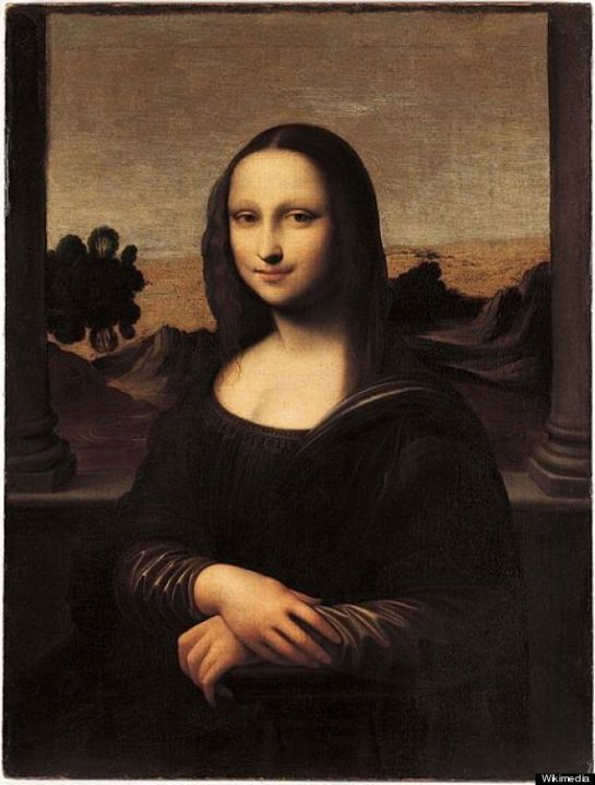 "The ""Isleworth Mona Lisa"" (c. 1410-1455 [approximate canvas date])"
