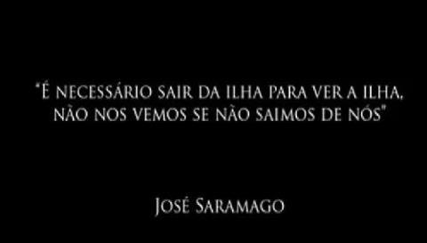 Saramago e a Ilha