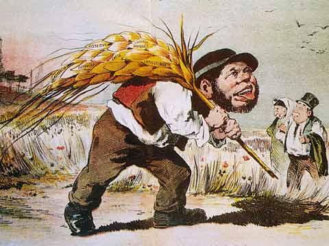 Caricatura do Zé Povinho, uma criação de Rafael Bordalo Pinheiro
