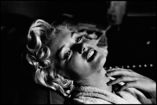 USA. New York. American actress Marilyn MONROE. 1956.