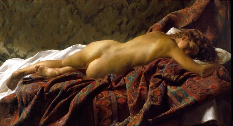Jacob Collins (American , born 1964) – Odalisca