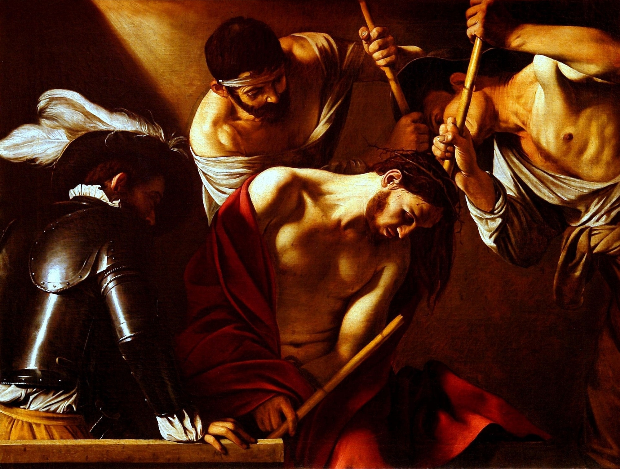 Crown of Thorns attributed to Michelangelo Merisi, Caravaggio (1602)