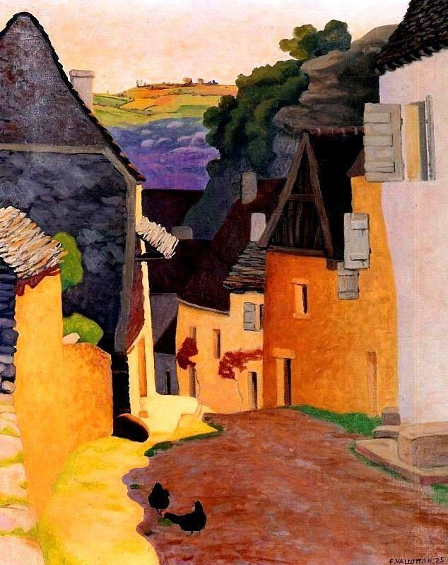 Felix-Vallotton-Rocamadour-Landscape