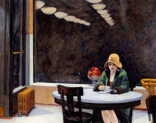 Automat, 1927 - Edward Hopper
