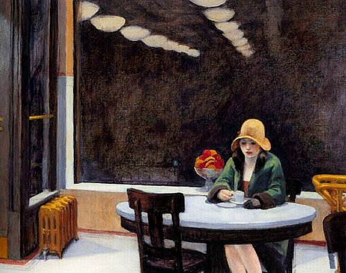 Automat, 1927 - Edward Hopper