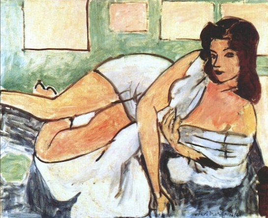 Reclining Nude in an Arab Robe, 1941 - Matisse