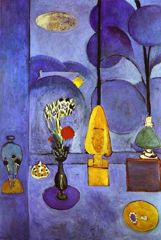 The Blue Window, 1911 - Matisse