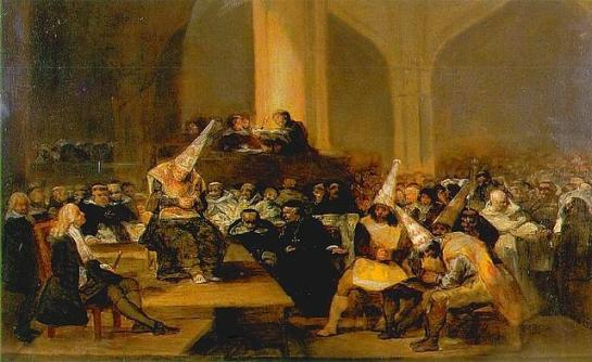 Goya, La Inquisición (1814)