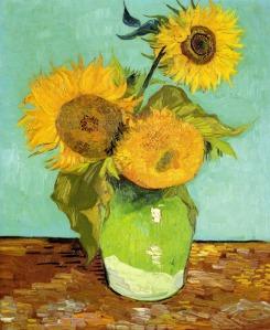 Girassol de Van Gogh