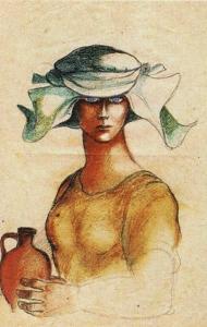 mulher com cântaro - de álvaro cunhal