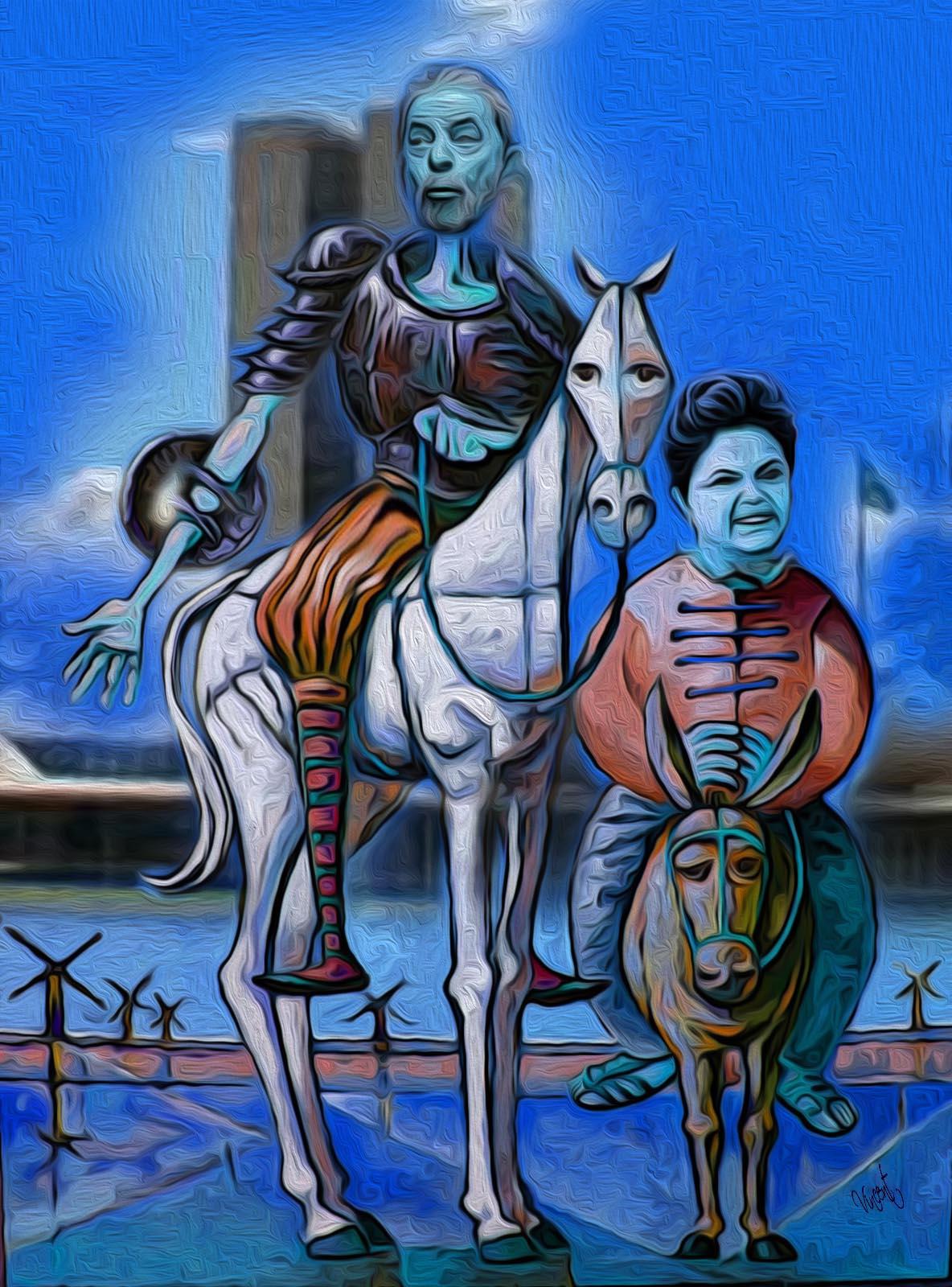 Dom Quixote com DILMA 02